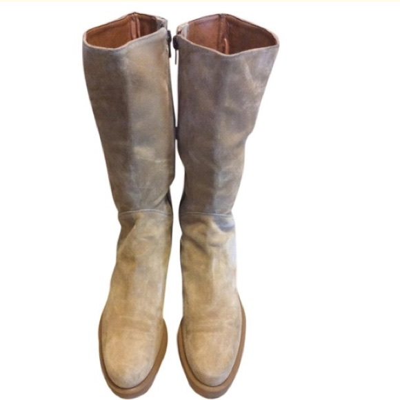 SP Cosepersonali Sand Suede Boots